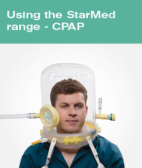 Using the StarMed range - CPAP